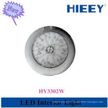 Luz de techo llevada interior redonda llevada 12V de la lámpara interior para el uso del remolque