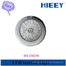 12В светодиодный интерьер лампы круглый интерьер светодиодный потолочный светильник для использования прицепа