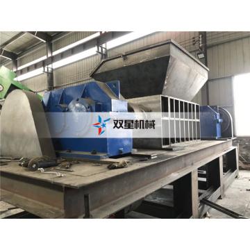 Planta de reciclagem de metal de trituradora de eixo duplo de disco rígido