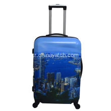ABS+PC printing aluminum trolley bag