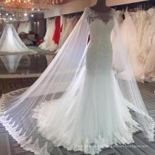 Robe de mariée sirène sexy à l'épaule