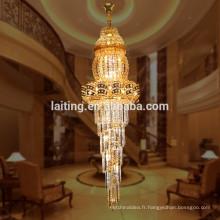 Arabe laiton laiton hôtel lustre de mariage pour escalier 98108