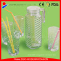 Hot Sale 1000ml Glass Water Bottle, Glass Juice Bottles, Glass Drinking Bottle