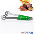 Football Shape handle de madera Barbecue Set BBQ Tools
