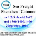 Shenzhen International Ocean Freight to Cotonou