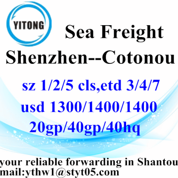 Shenzhen International Ocean Freight ke Cotonou