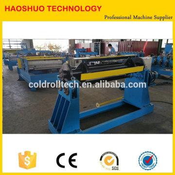Máquina de corte simples de bobina de aço para PPGI, GI STEEL