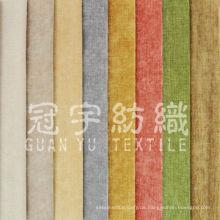 Polyester Leinensofa Stoff für Heimtextilien