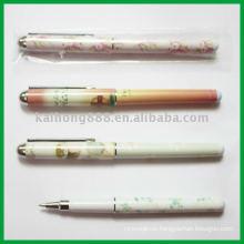 Металлический зажим шариковая ручка
