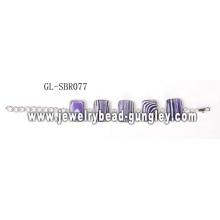 Stone bracelet chain