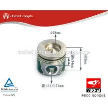 Piston YuChai Engine YC4F F6000-1004001B