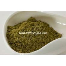 Herstellung von Tee-Pulver
