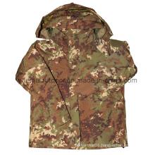 Military Ecwcs Waerproof Jacket in Italy Camo