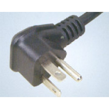 UL Approval American 3 Pin AC Power Cord Plug