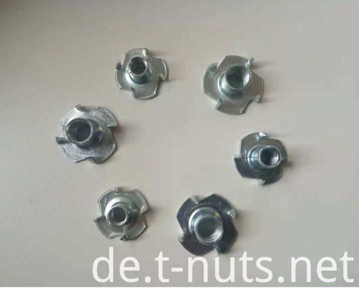Four Pronged Tee Nut