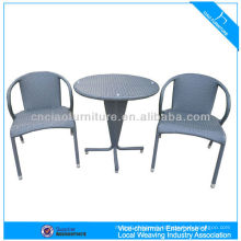 Meubles de table et chaise de jardin rotin de loisirs