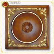 Wood-Like 3D Luxury Square Ceiling Panel (PUDH08-F4+F19)