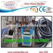 PP PE PVC PA corrugated conduit pipe making machinery