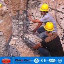 Cilindros de alta qualidade para máquina divisora de rocha hidráulica
