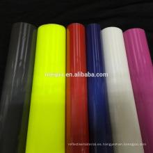 Película de vinilo de transferencia de calor reflectante / Reflector PU flex de vinilo PVC