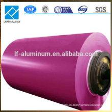 Bobina de aluminio Prepainted, precio de la fabricación