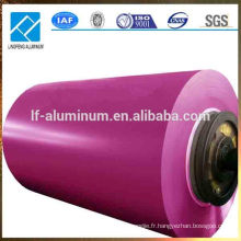 Bobine en aluminium pré-peintée, prix de fabrication