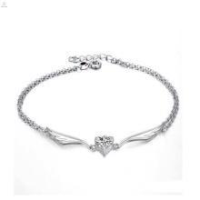 Modeschmuck hohe Qualität Sterling Silber Knöchel Armband Antik Silber Fußkettchen