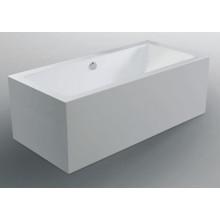 Квадратная акриловая ванна