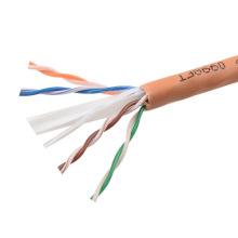 UTP CAT6 LSZH Cable Fluke Tested Soild Bare Copper Orange