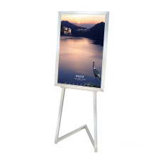 Hotel Titanium Sign Board Stand (DV28)