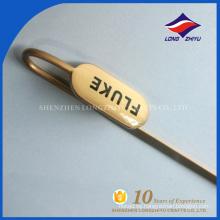 Metal de encargo del marcador del recuerdo del tamaño estándar del metal con el logotipo