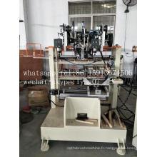 Machine de brosse de fil d'acier de 4 axes