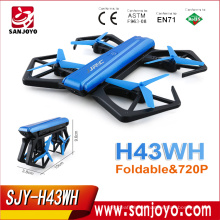 JJRC H43 H43WH Foldable Drone with 720P WIFI FPV Phone Control Altitude Hold RC Helicopter Selfie Drone SJY-H43WH