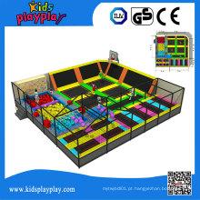 Parque comercial da tela do trampolim de Dodgeball de Kidsplayplay para o adulto