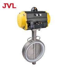 JL600-D1/C7 Pneumatic Soft seal worm gear butterfly valve