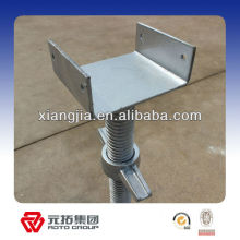 Painted and galvanized Scaffolding Parts U Head Screw Jack/jack base