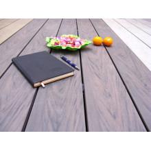 Textura da cor da mistura WPC Decking, grão aleatório Decking de WPC, revestimento de madeira plástico da madeira exterior, Decking de madeira composto