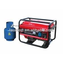 2kw usado gerador de gás natural LPG2500 Liquefied Petroleum Gas