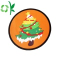 Natal Resistente Silicone Cup Coaster Cup Place Mat