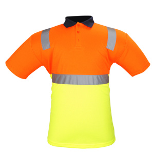 Coton Protection Hi Viz Shirt sécurité