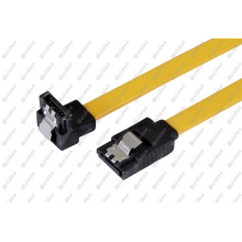 18-Inch Right Angle to Straight HDD Hard Drive SATA Cable