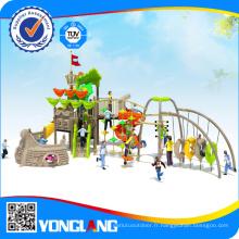 Aire de jeux en plastique extérieure pour enfants