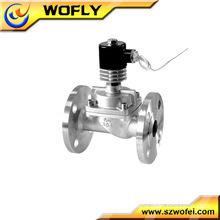hydraulic solenoid valve 24 volt 3/4 brass solenoid valve