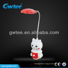 18 led rechargeable table lamp for study