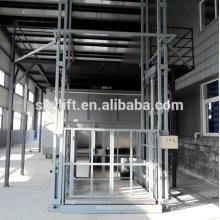 Elevador hidráulico estacionario hidráulico de la guía de la elevación de la escalera