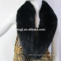 col de fourrure de renard de couleur de qualité supérieure teints