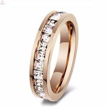 2017 нержавеющей стали R женские позолоченные модный дизайн кольца