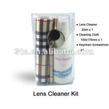 Kit de limpeza de lentes de óculos
