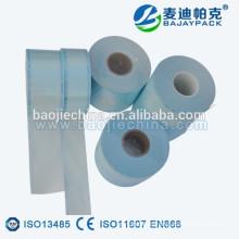 Rollos médicos de la esterilización del papel para embalar el dispositivo quirúrgico