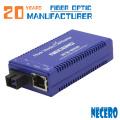 10/100 Мбит / с Многорежимный 1310Nm Дуплексный оптоволоконный порт Sc 2Km Ac Dc Converter